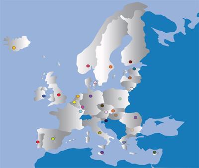 Mapa CEC